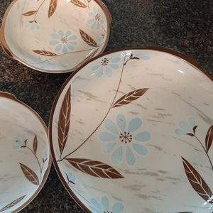 Japanese plate and Bowl from Japan was acquired in